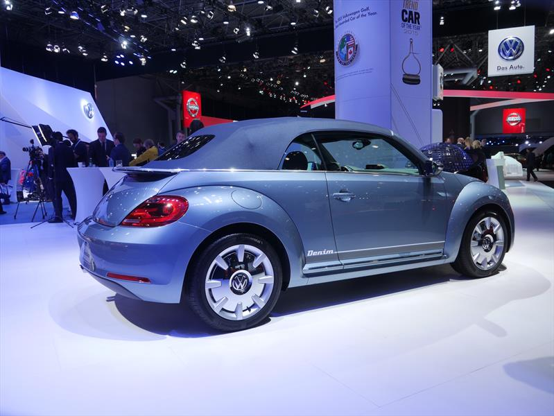 Volkswagen Beetle Convertible Denim