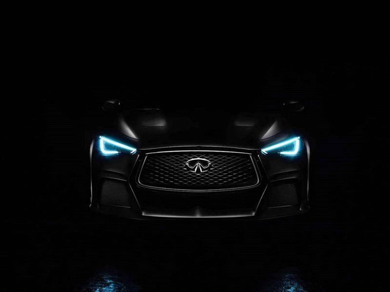 Infiniti Q60 Black S Concept 2017