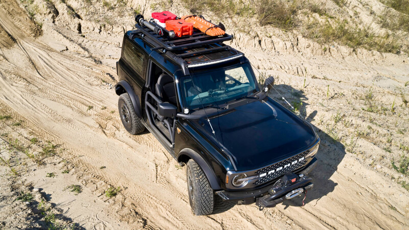 Ford Bronco 2P Trail Rig Concept