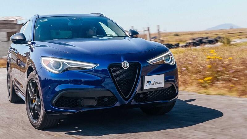 Alfa Romeo Stelvio 2020 a prueba
