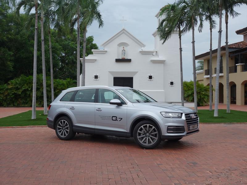 Manejamos la nueva Audi Q7
