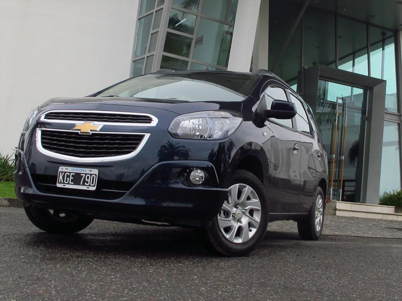 Chevrolet Spin, lanzamiento en Argentina