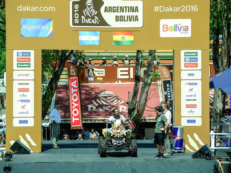 Nicolás Robledo y el Dakar 2016