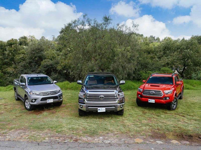 Hilux, Tacoma y Tundra: Las pickups de Toyota