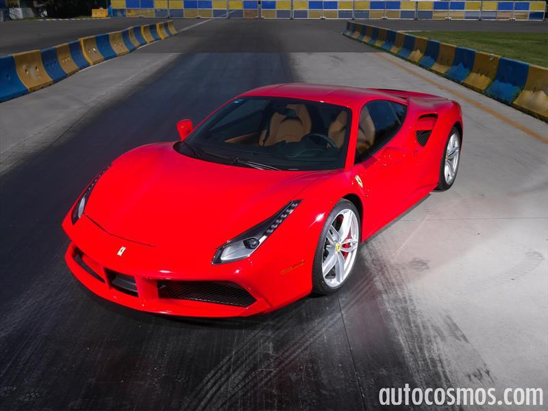 Ferrari 488 GTB a prueba