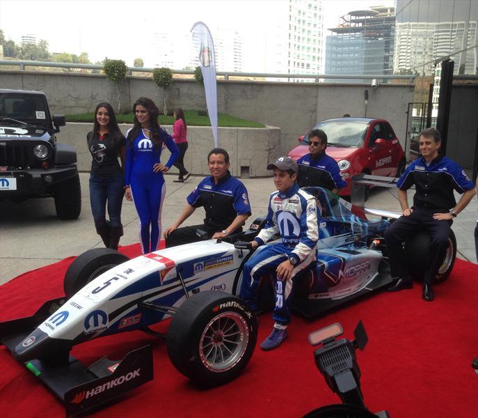 Escudería Mopar en la Panam GP Series