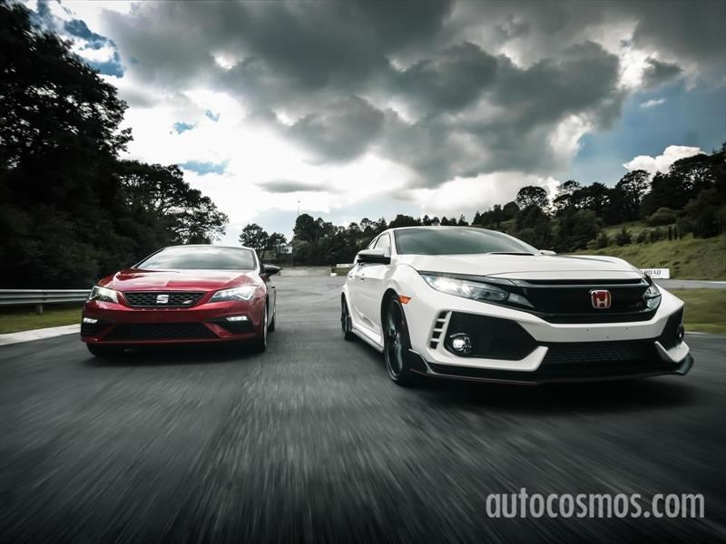 Honda Civic Type R vs SEAT León CUPRA