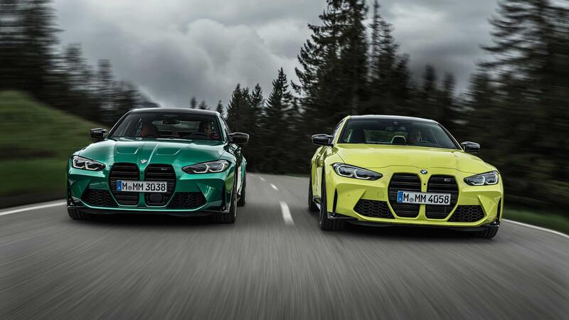 BMW M3 sedán y M4 coupé 2021