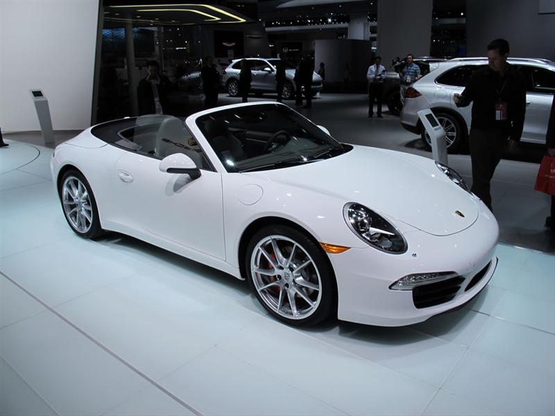 Porsche 911 Cabriolet 2013 en el Salón de Detroit