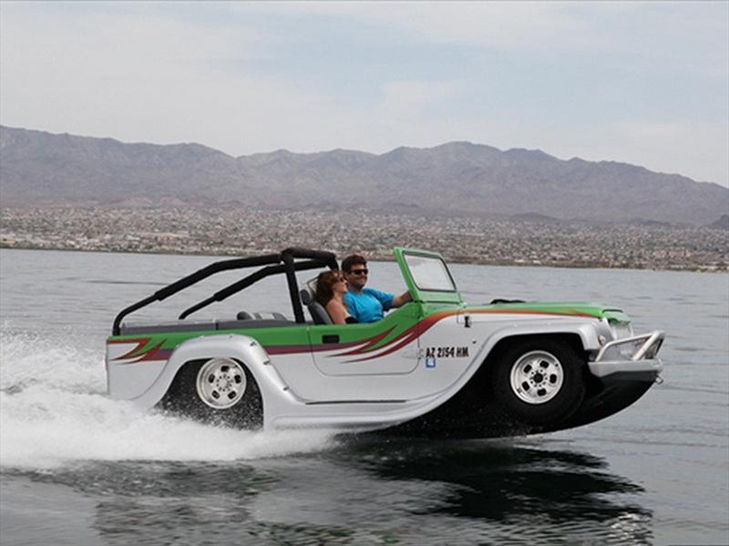 WaterCar Panther, un Jeep anfibio