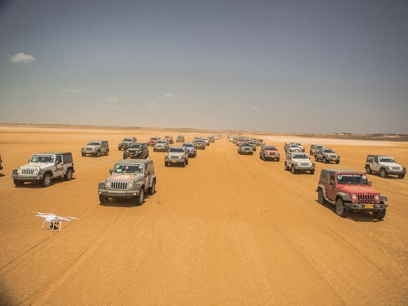 Manada Jeep Guajira 2014. Parte II