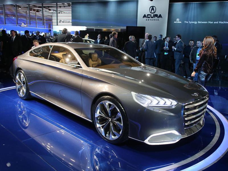 Hyundai HCD-14 Genesis Concept en Detroit 2013