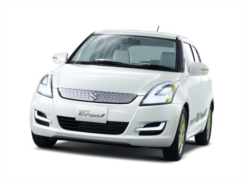 Suzuki Swift EV Hybrid Concept en Tokio 2011