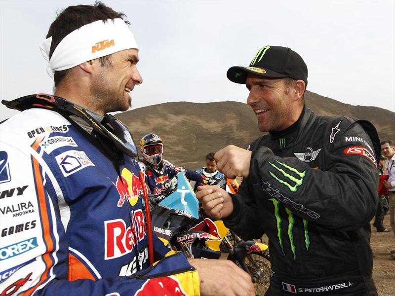Dakar 2012, la llegada