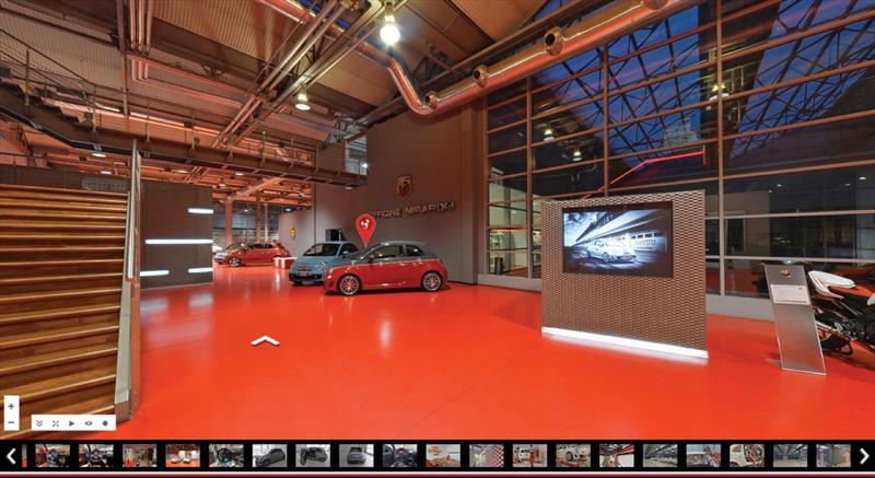 Google y FIAT nos llevan a la fábrica de Abarth