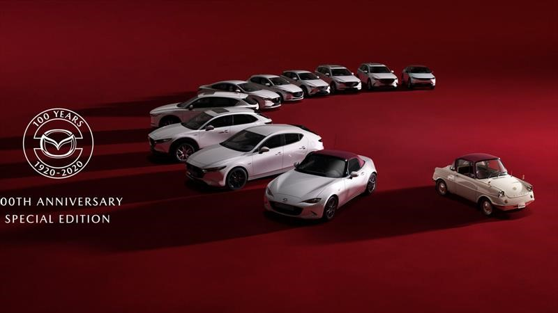 Mazda 100 años edición especial