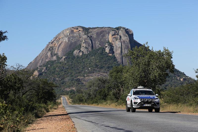 Volkswagen Touareg rompe récord Cape to Cape