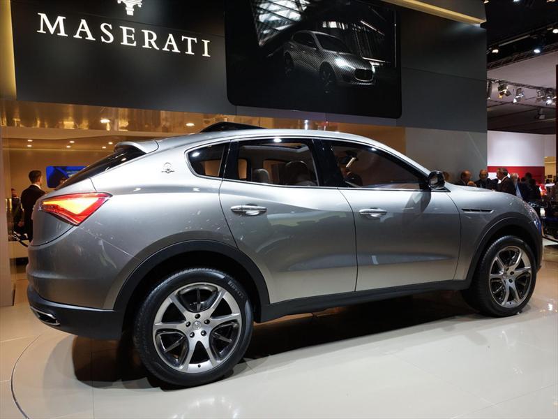Maserati Kubang debuta enFrankfurt 2011