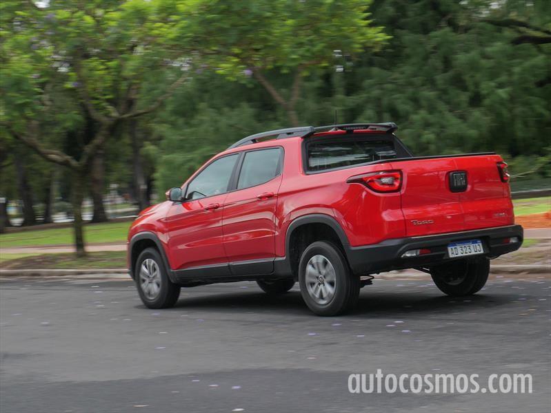 FIAT Toro Nafta a prueba