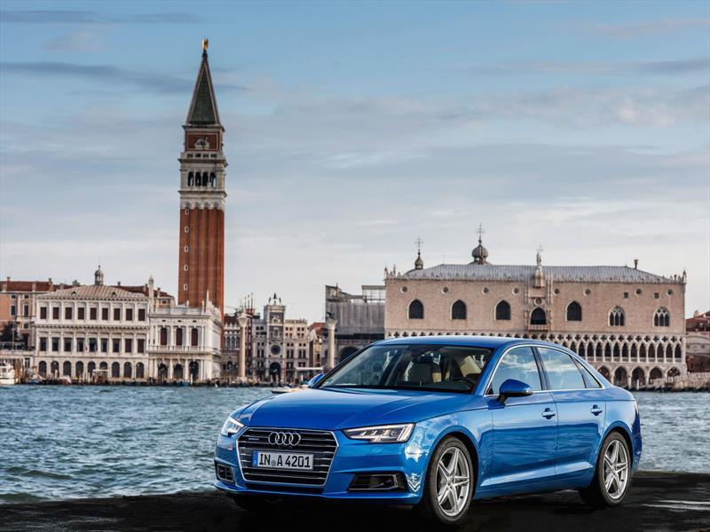 Manejamos el nuevo Audi A4 en Italia