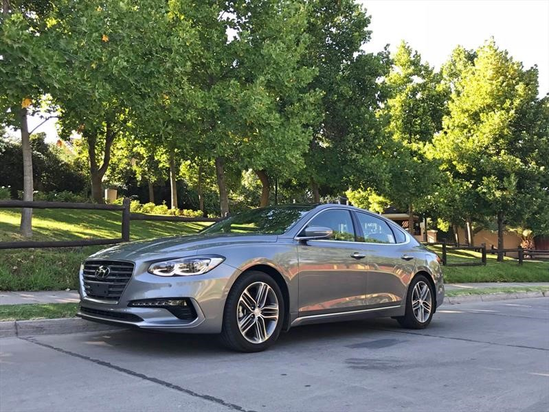 Hyundai Azera 2018 - Test drive