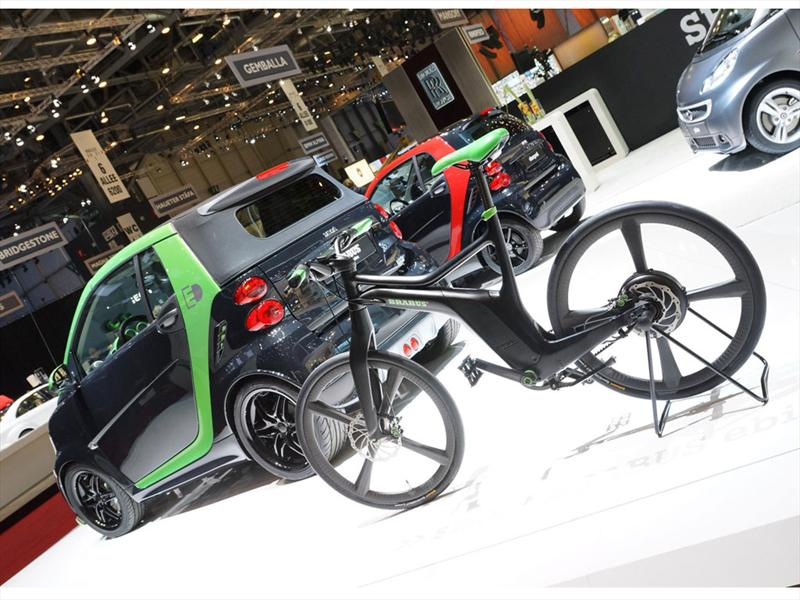 Smart Brabus  Fortwo EV en Ginebra 2012