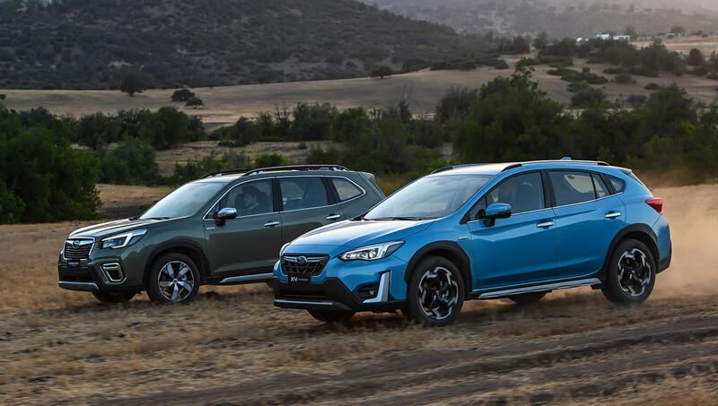 Subaru Forester y XV Hybrid 2021