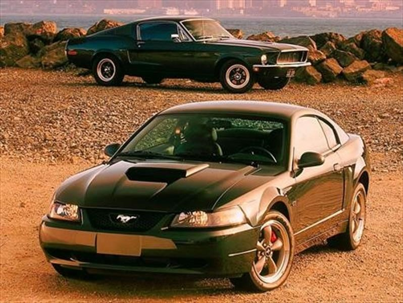 Ford Mustang Bullitt, 2001