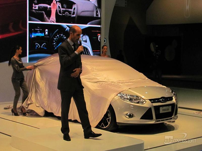 Ford Focus III en el Salón de BA
