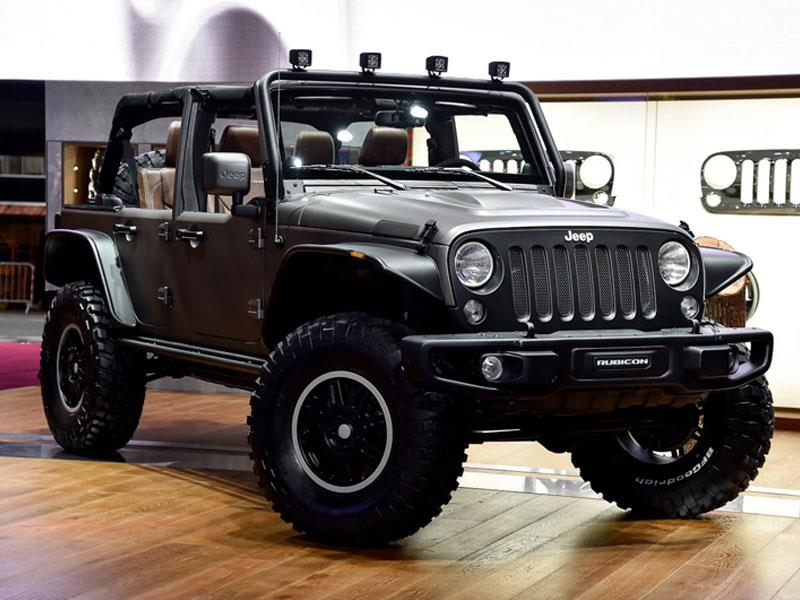 Jeep Wrangler Unlimited Rubicon Stealth Study