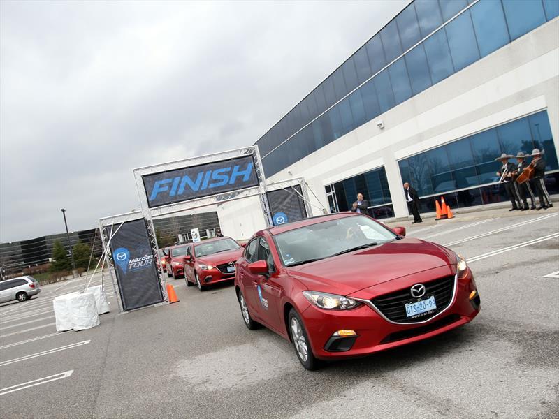 Mazda3 Tour Etapa 6: Lima - Toronto