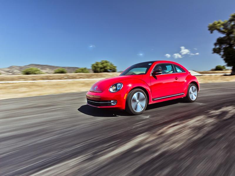 Volkswagen Beetle Turbo 2012 a prueba