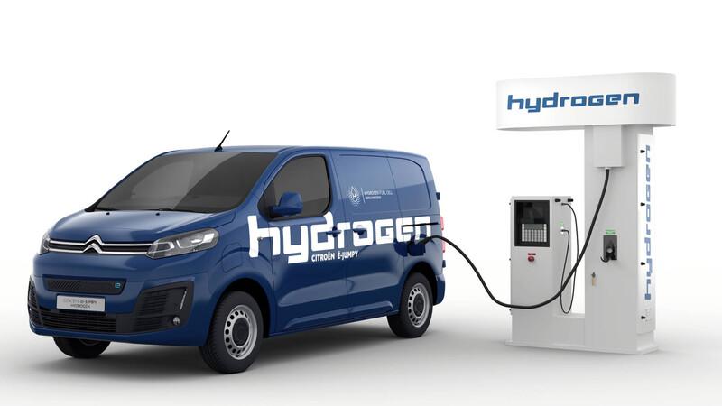 Citroën ë-Jumpy Hydrogen 2022