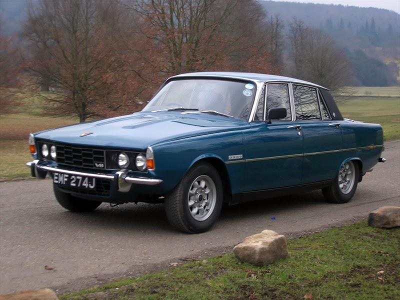 Grace Kelly - Rover P6 3500 V8