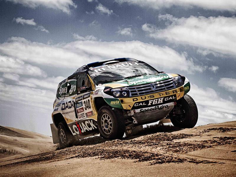 Renault Duster en el Dakar 2014