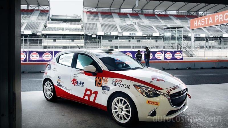Mazda2 R1 de Rally