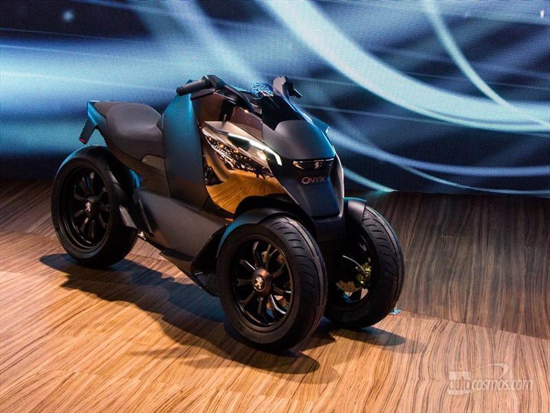 Peugeot Onyx Scooter Concept en París 2012