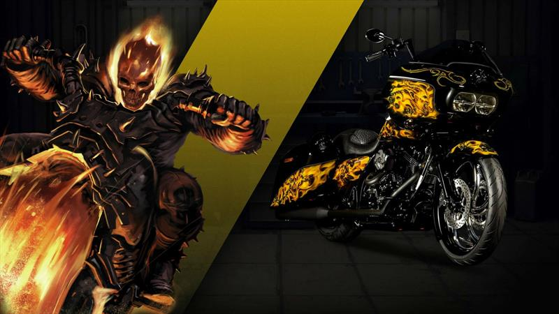 Harley Davidson y Marvel