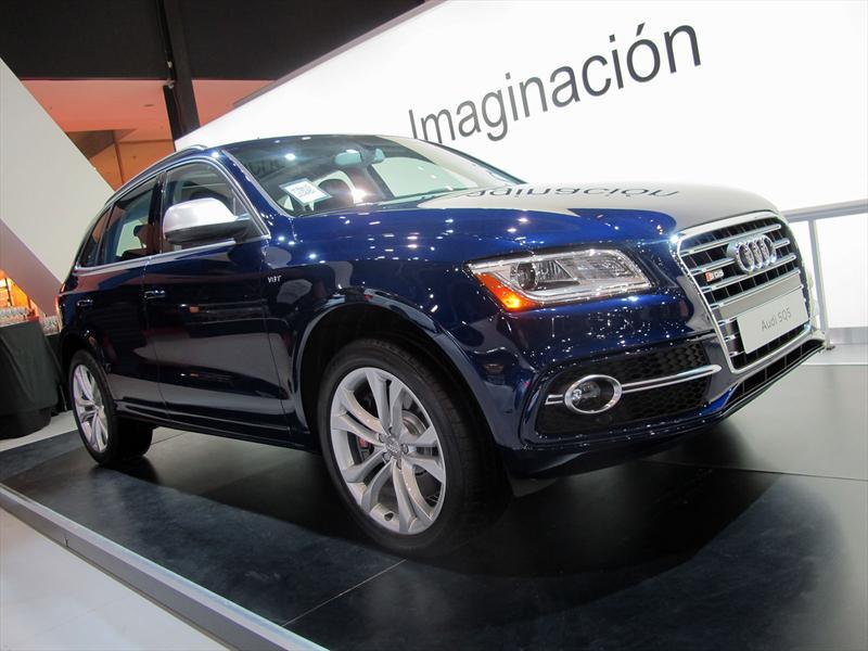 Audi SQ5 se presenta en el Salón de BA 2013