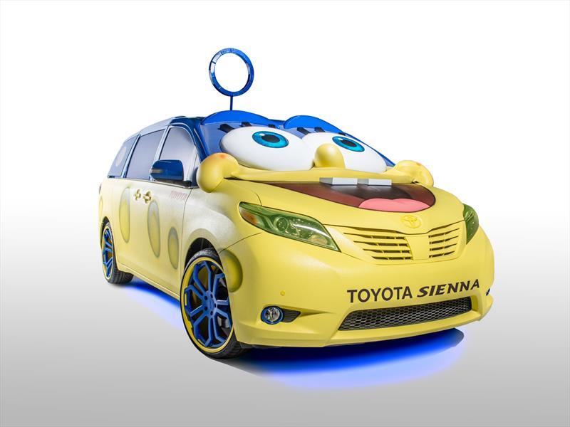 Toyota Sienna inspirado en Bob Esponja