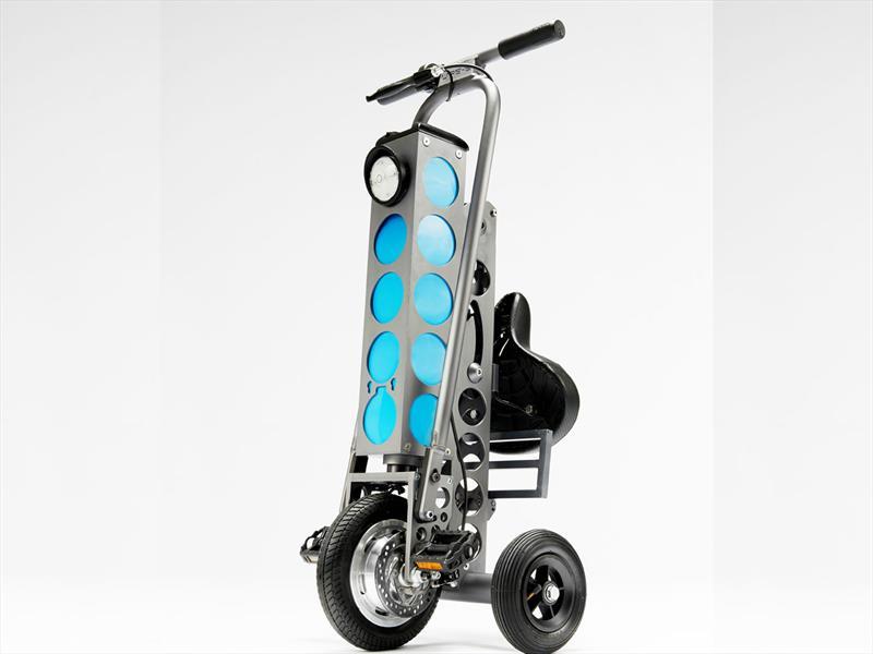 URB-E, el scooter eléctrico plegable