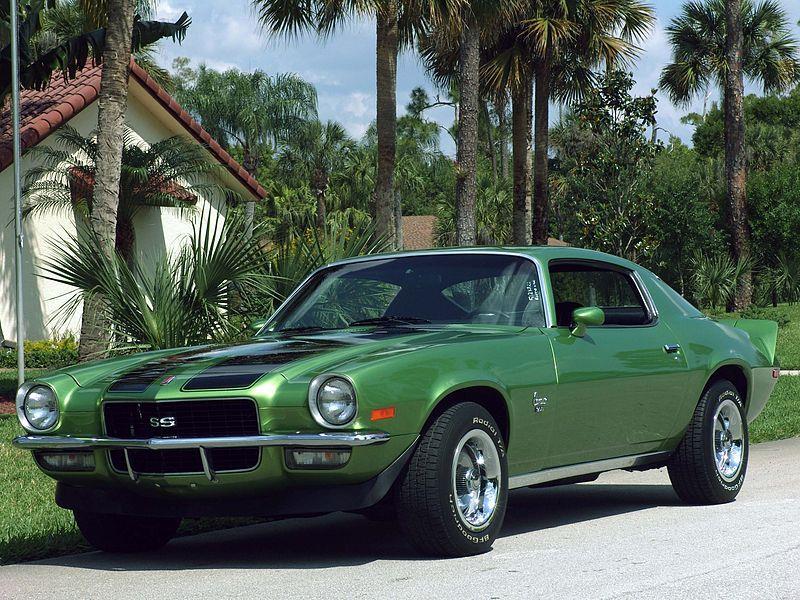 Chevrolet Camaro 2a Generación 1970-1981