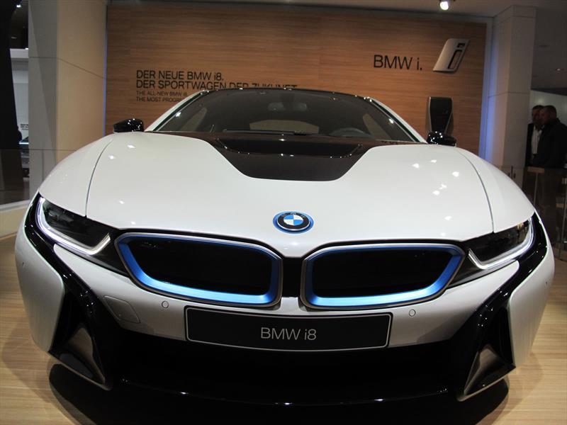 BMW i8 2014, el deportivo del futuro