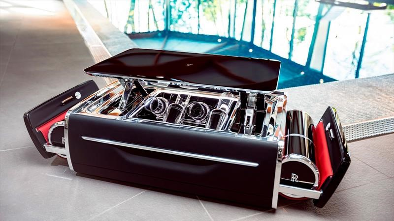 Caja de champagne de Rolls-Royce