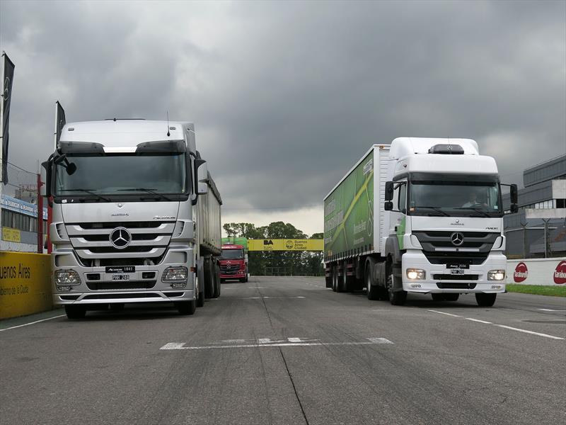 Mercedes-Benz camiones y buses EURO 5