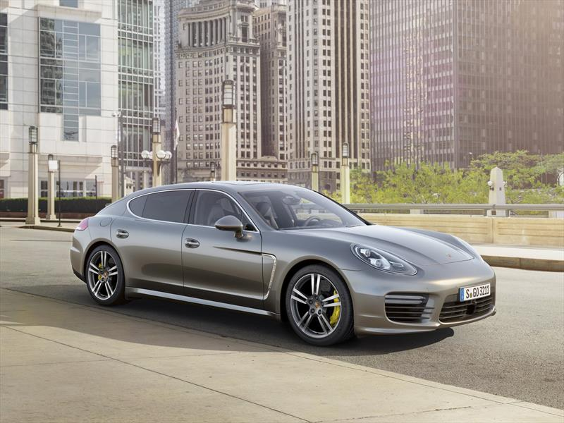 Debut Porsche Panamera Turbo S 2014