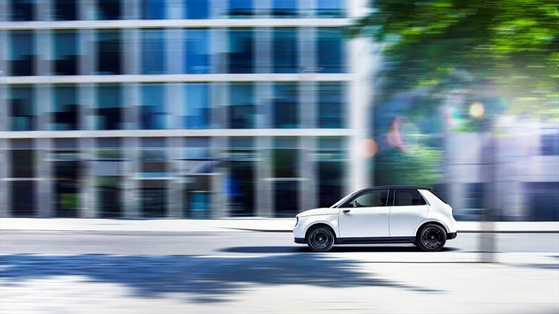 Honda e 2020 en Frankfurt 2019