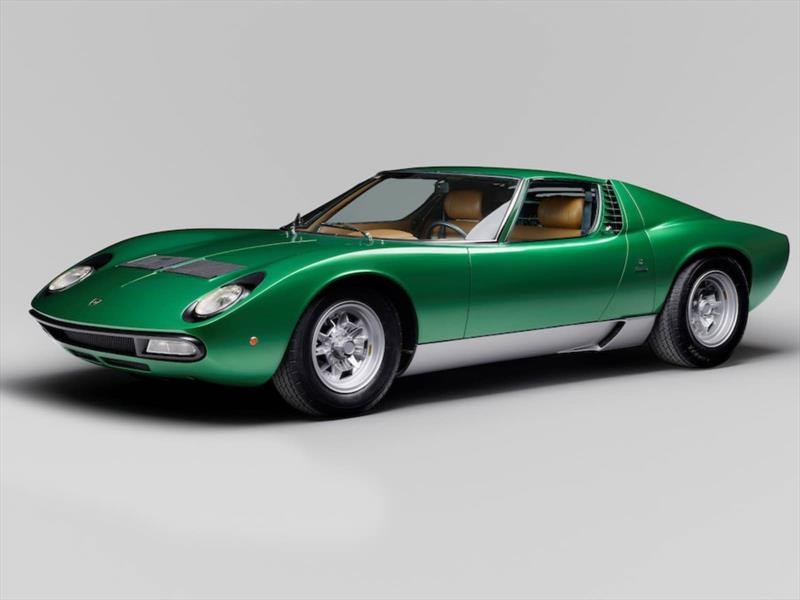 1971 Lamborghini Miura P400 SV Coupé por Bertone