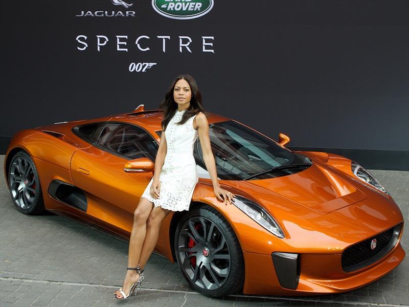 Los autos Jaguar-Land Rover de SPECTRE