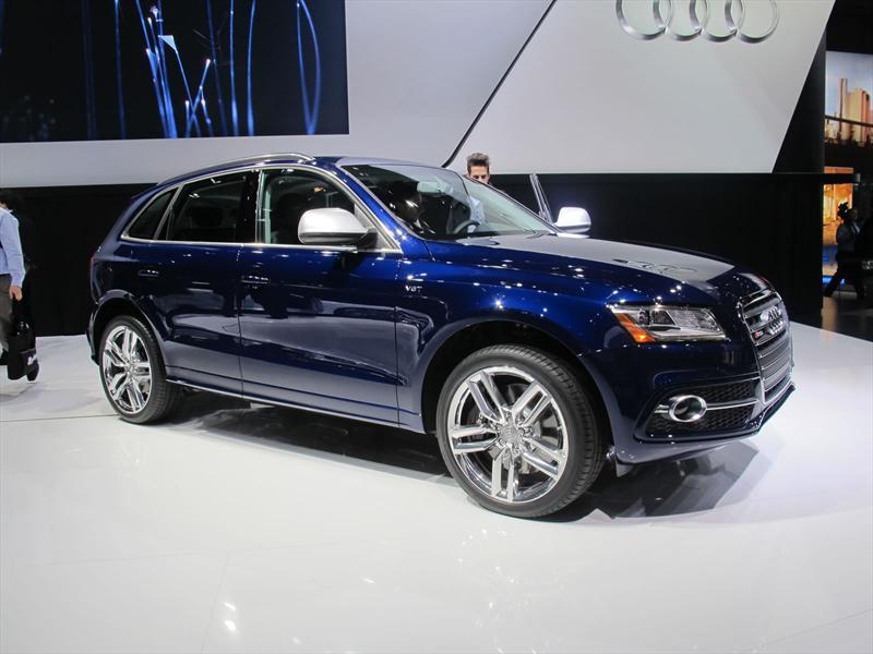 Audi SQ5 2014 en vivo